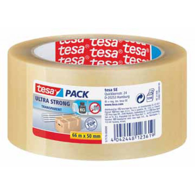 VERPAK.TAPE PVC 66X50 TRA.TESA