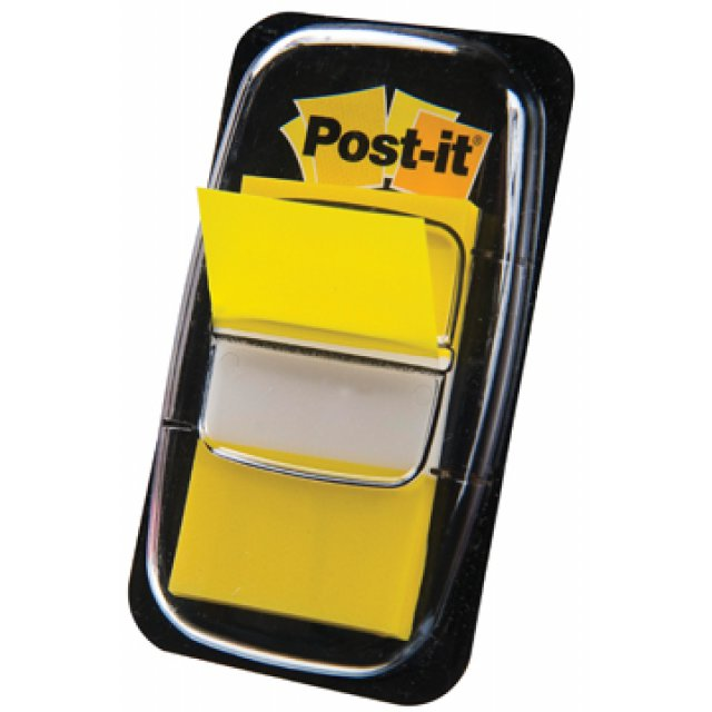 POST-IT INDEX FLAG GEEL
