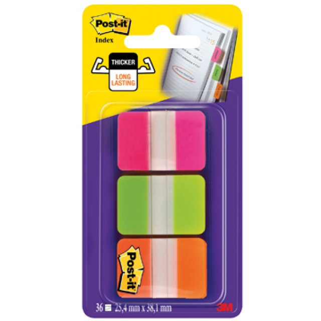 POST-IT INDEX STRONG 12TAB ASS