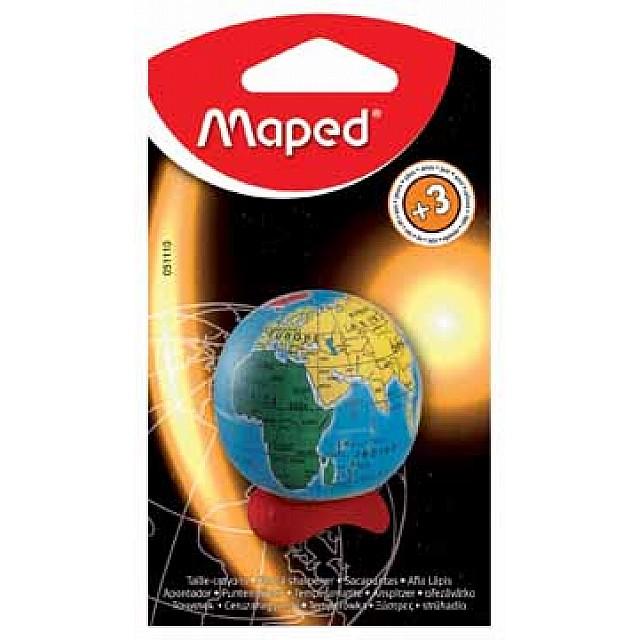 SLIJPER GLOBE MAPED BLS 1X
