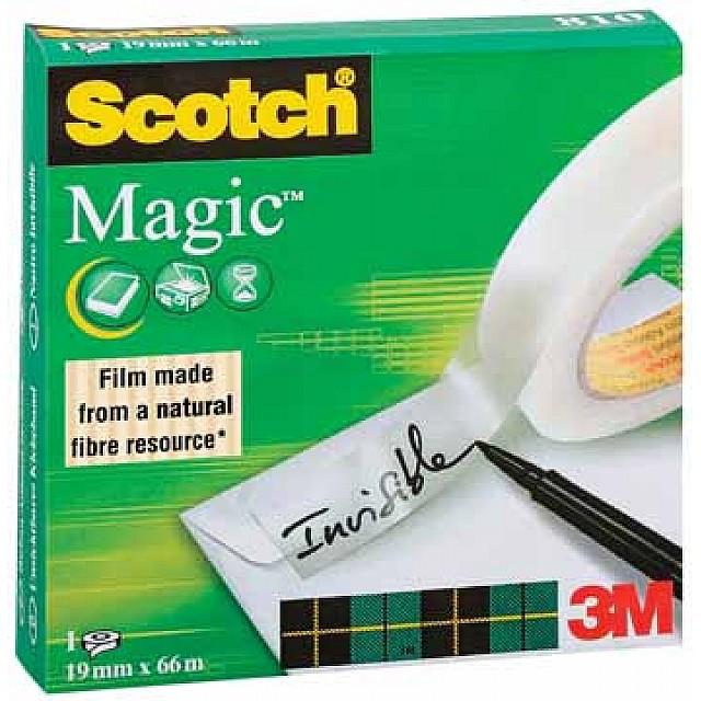 SCOTCH MAGIC TAPE 19MMX66M 1ST NETT