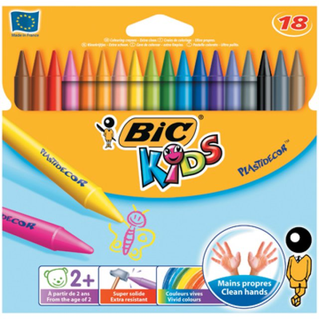 ETUI 18 PLASTIDECOR BIC KIDS