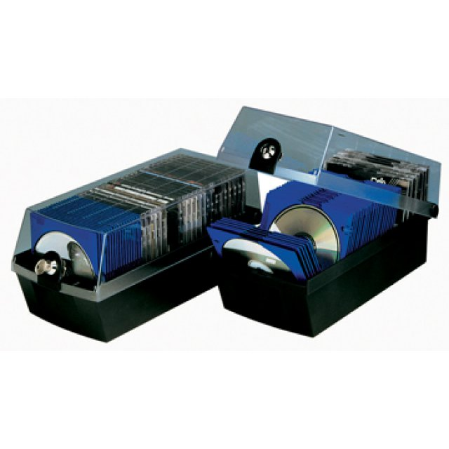 CD-DOOS MAX ZWART VR 60 CDS