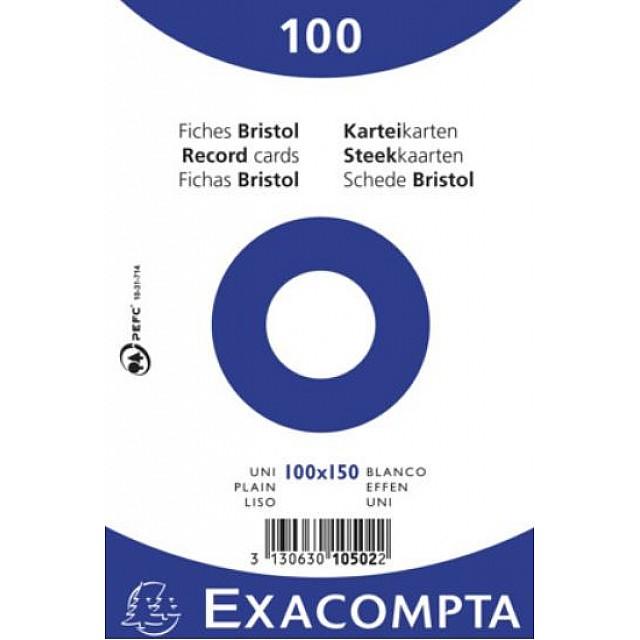 EXAC STEEKKAART 100X150 EFFEN