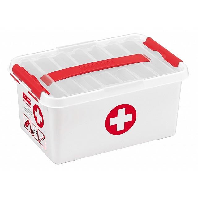 SUNWARE Q-LINE FIRST AID BOX 6L