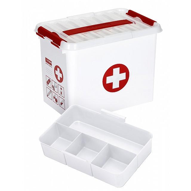 SUNWARE Q-LINE FIRST AID BOX 9L