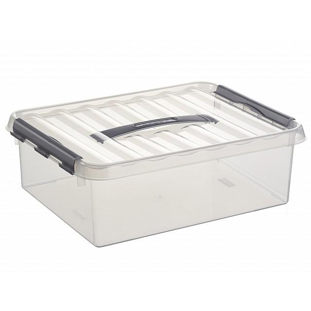 SUNWARE Q-LINE BOX 10L TRANSP