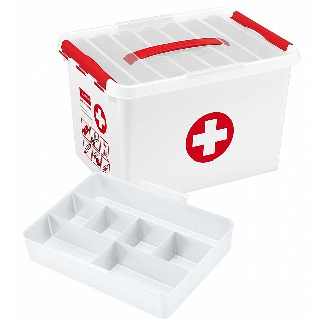 SUNWARE Q-LINE FIRST AID BOX 22L