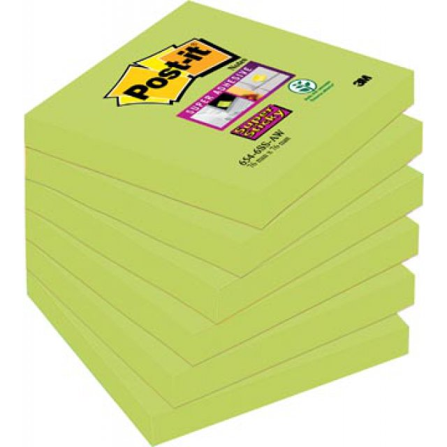 POST-IT SS AW LIMOENGROEN 76X76 90V