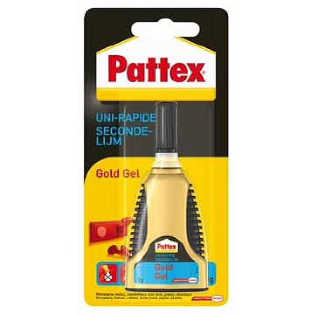 PATTEX SECONDELIJM GOLD GEL BL