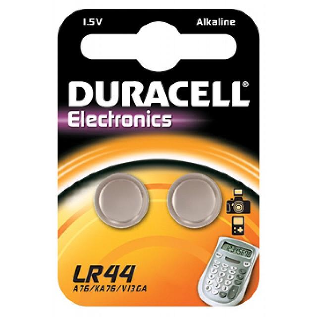 DURACELL KNOPCEL 2XLR44 1.5V