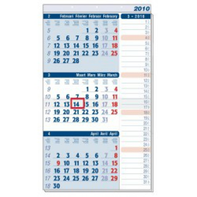 STROBBE MANAGER NOTES 3 MAANDKALENDER