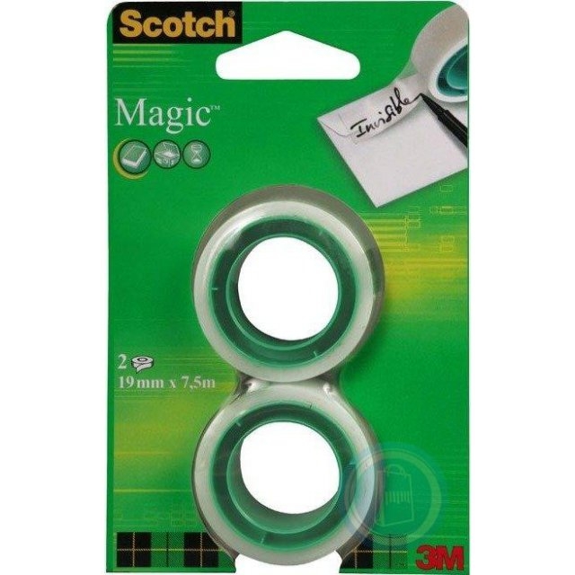 SCOTCH MAGIC TAPE VULLING 2X19MMX7.5