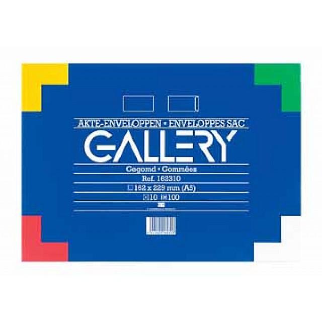 GALLERY AKTE-OMSLAGEN 162X229 WIT 10ST
