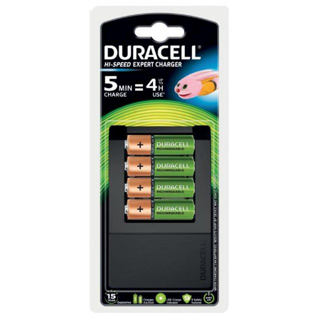 DURACELL HIGHSP LADER 4AA BLS