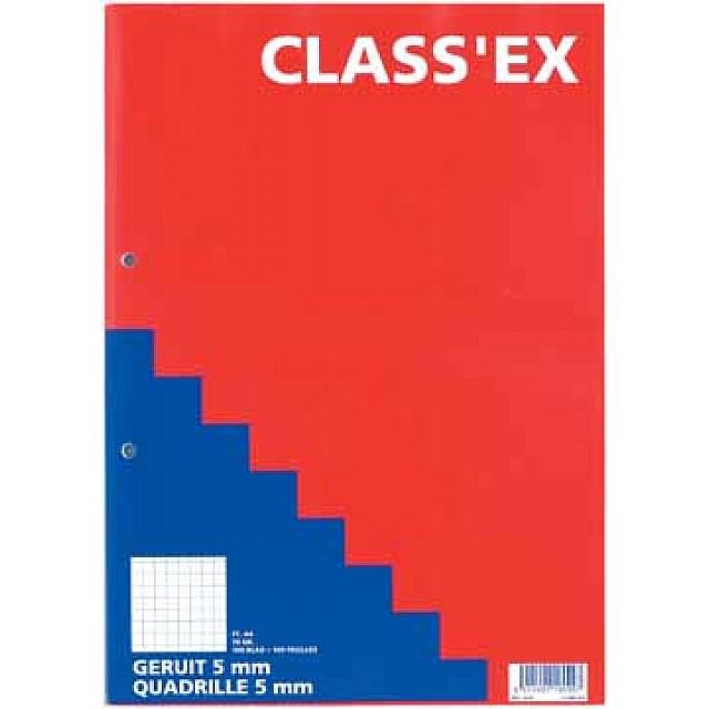 CLASS KURSUSBLOK RUIT 5X5 70G