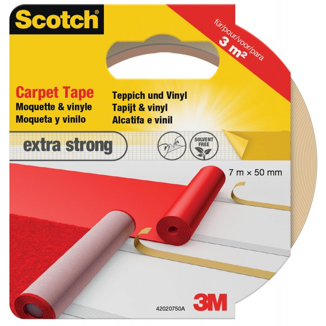 SCOTCH TAPIJTTAPE STRONG 50X7