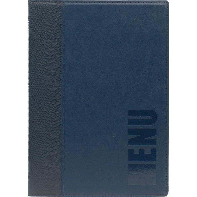 SECURIT MENU TRENDY A5 BLAUW