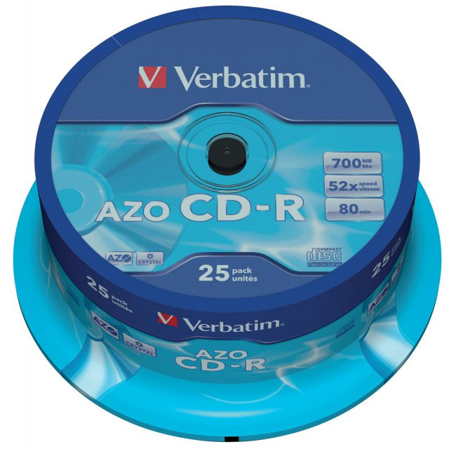 CD-R 700MB 52X SPINDEL 25X