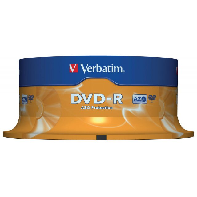 DVD-R 4,7GB 16X SPINDEL 25X