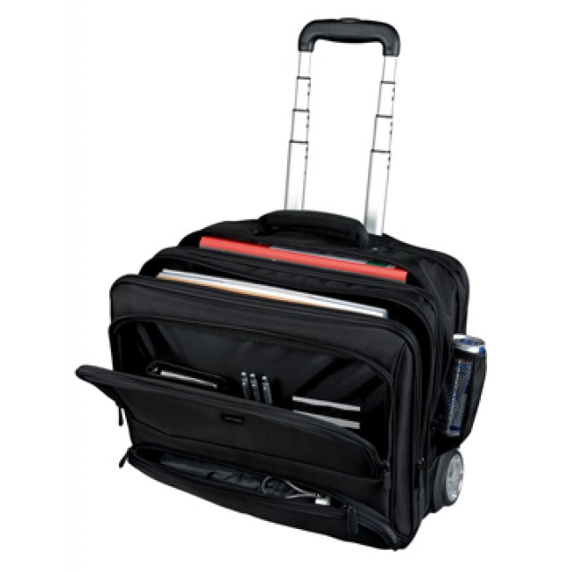 LAPTOPTROLLEY SKY ZWART
