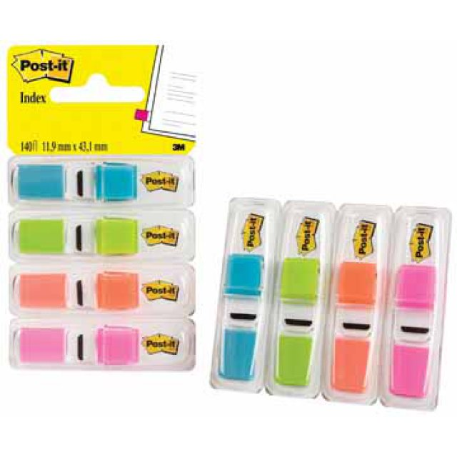 POST-IT INDEX FLAG SMAL P4 FEL