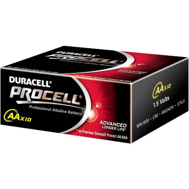DURACELL INDUSTRIAL AA 10ST