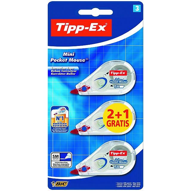 TIPP-EX MINI POCK MOUSE 2+1 BL