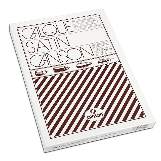 CANSON KALKPAPIER 90G A4 100V