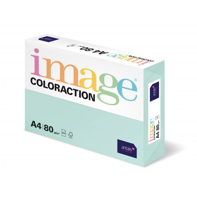 COLORACTION A4 80G LAGOON 500V