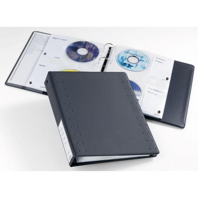 DURABLE CD/DVD INDEX 40CD