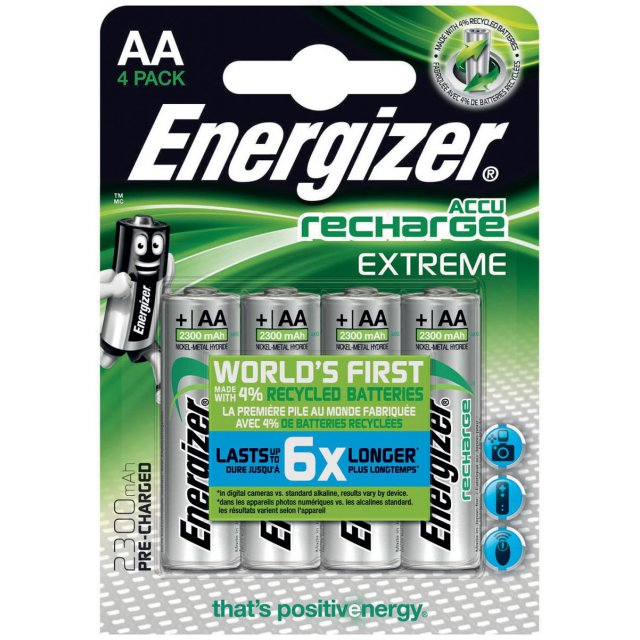 ENERGIZER EXTREME AA BLS4