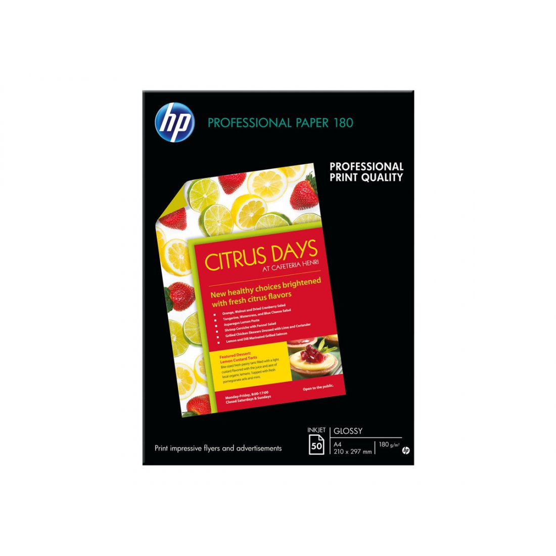 HP 180 Superior glossy paper inktjet 180g/m2 A4 50 sheets 1-