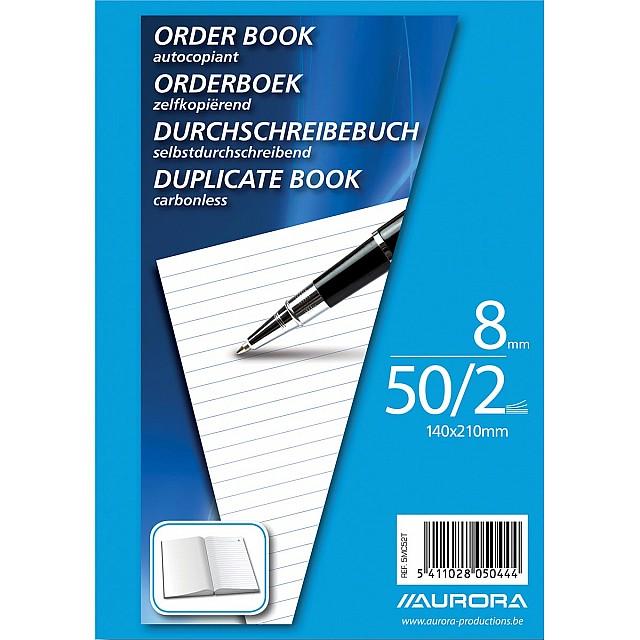 ORDERBOOK ZELFKOP A5 2X50 L