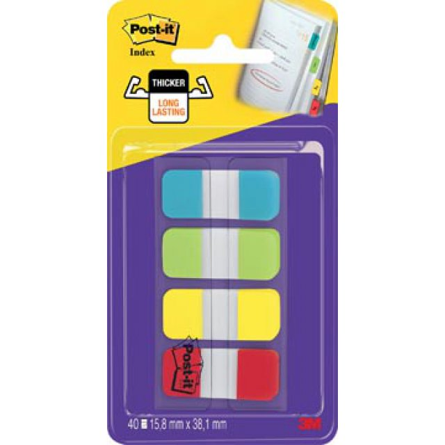 POST-IT INDEX STRONG 4X 10TABS