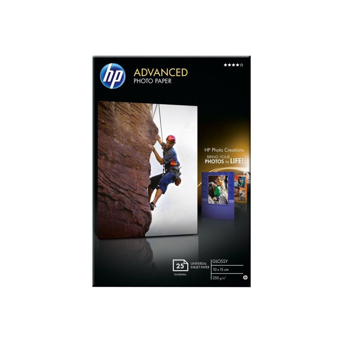 HP Q8691A Advanced glossy photo paper inktjet 250g/m2 100x15
