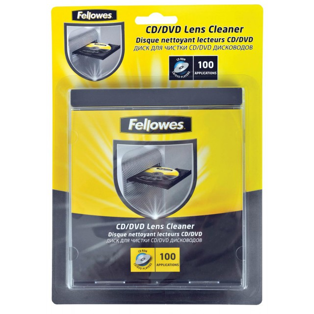 CD-LENSREINIGER FELLOWES
