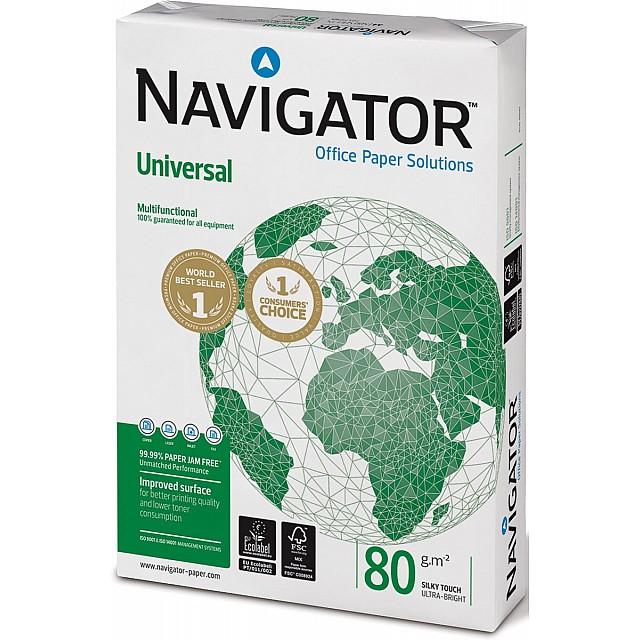 NAVIGATOR papier WIT A4 80GR 500VEL