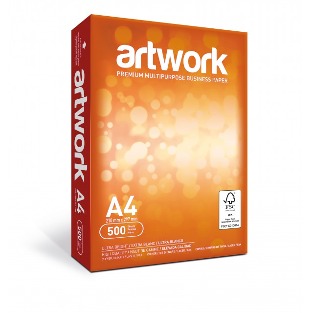 ARTWORK A4 75G 500V PER PAK