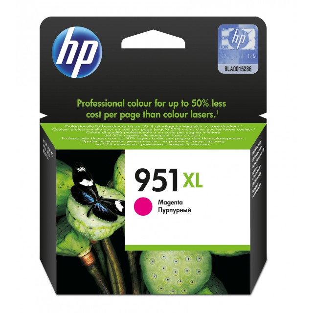 HP 951XL originele ink cartridge magenta high capacity 1.500