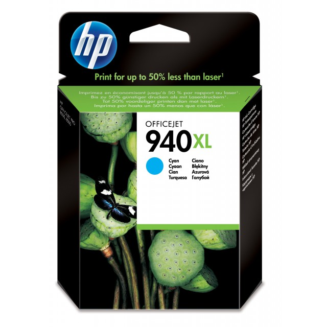 HP 940XL originele ink cartridge cyaan high capacity 1.400 p