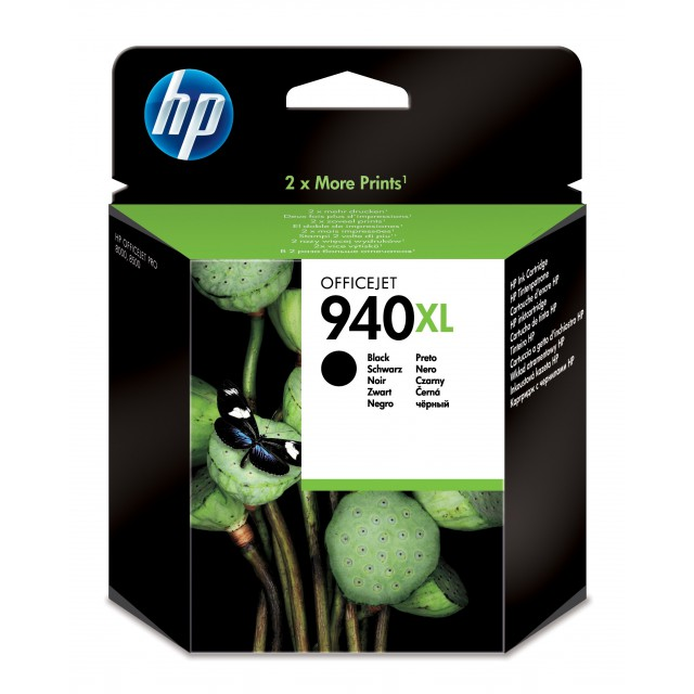 HP 940XL originele ink cartridge zwart high capacity 2.200 p