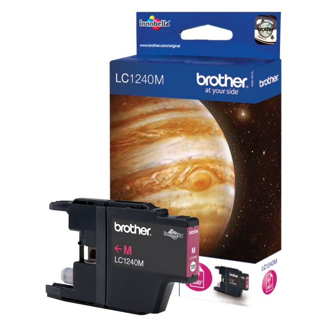 BROTHER LC-1240 inktcartridge magenta high capacity 600 pagi