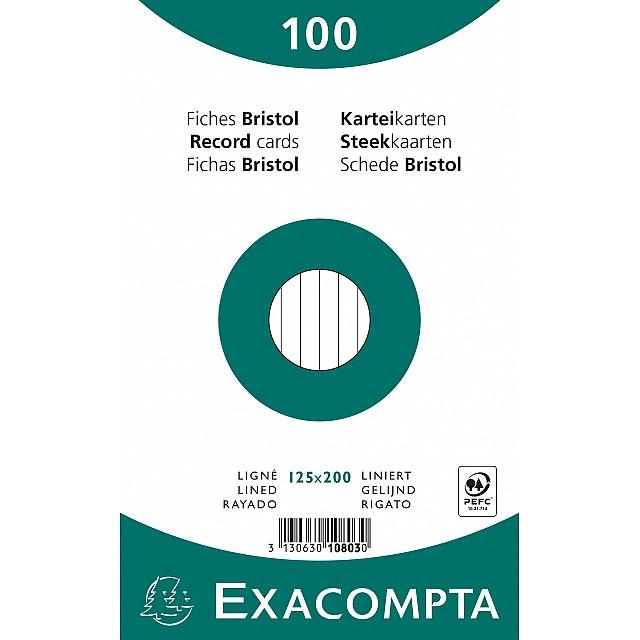 EXAC STEEKKAART 125X200 GELIJND