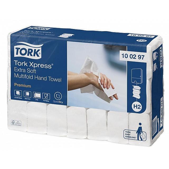 TORK H2 HANDDOEK PREMIUM 2L 2100VEL