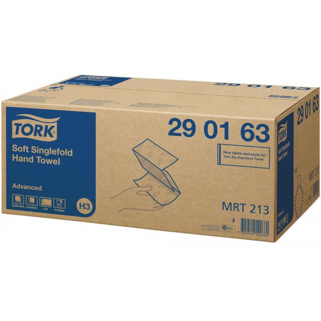 TORK H3 HANDDOEK ADVANCED ZZ 2L 375