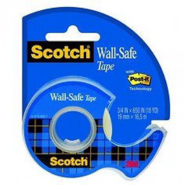 SCOTCH DISPENSER WALL SAFE TAPE