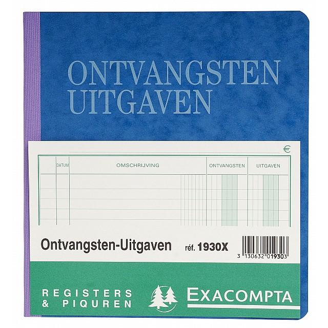 EXAC REGISTER ONTVANGSTEN-UITGAVEN
