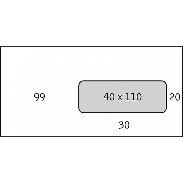 SM OMSLAG 114X229 +VENSTER P500