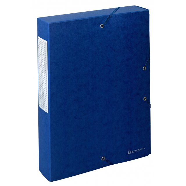 EXAC BOX KARTON 60MM BLAUW